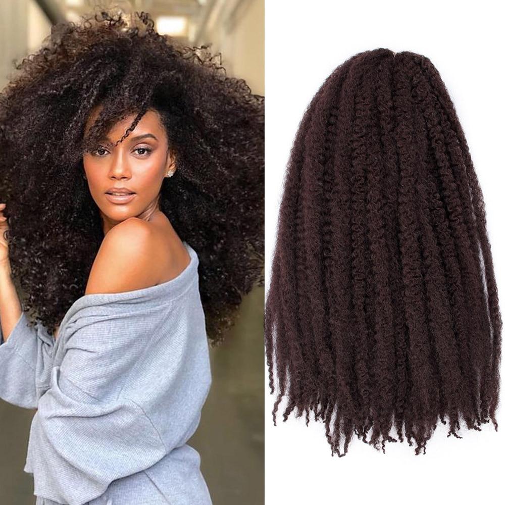Black Star Marley  Braids  Vlecht Haar Haak Ombre Afro Kinki Zachte Synthetische Vlechten Haar Gehaakte Vlechten Hair Extensions