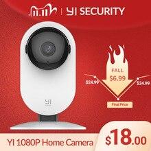 YI Home Camera 1080p IP Wifi Security AI Based Human Detection Baby Monitor Night Vision Cloud International version (US/EU)