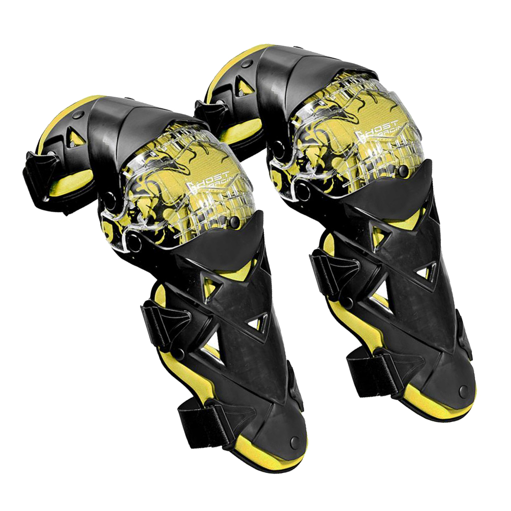 Image 2 - 1 Pair 45cm Motorcycle Racing Riding Knee Guard Protective  Protectors Pads Armor Kneepads Gear for football, basketball,  skatingMotorcycle Protective Kneepad   -