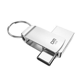DM USB C flash drive  128GB Type Flash Drive PD162 32GB OTG usb stick High Speed cle 3.0 Pen