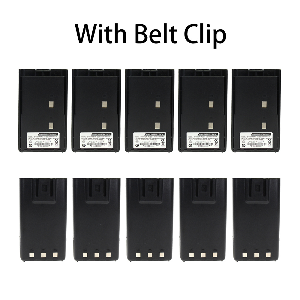 10X BH1104 Replacement Battery For HYT Hytera Radio TC-500 TC-446 TC500 TC446