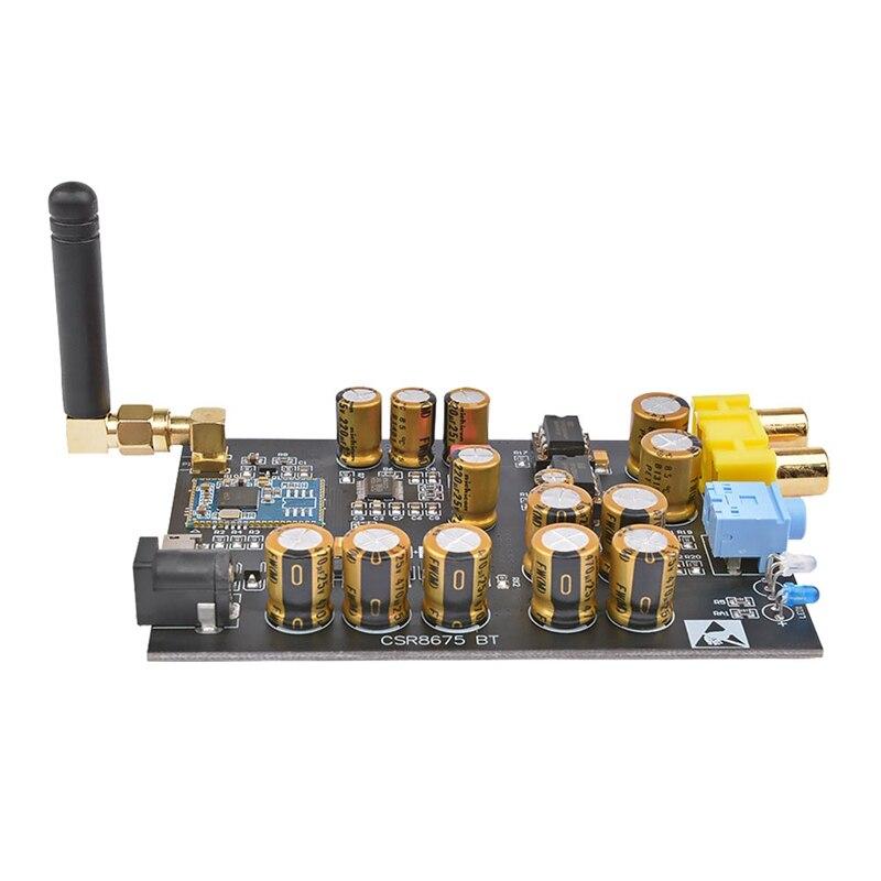 Csr8675 Aptx Hd Bluetooth 5,0 беспроводной приемник Pcm5102A I2S Dac декодирование без потерь поддержка 24Bit с антенной