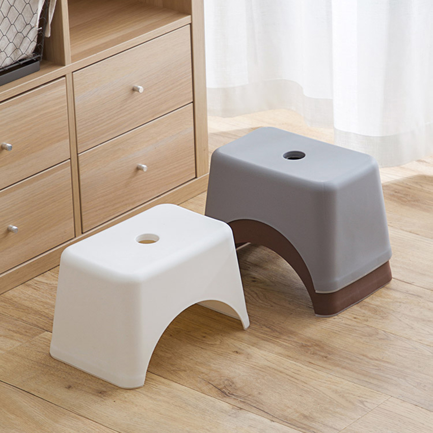 Plastic Step Stool Lightweight Portable