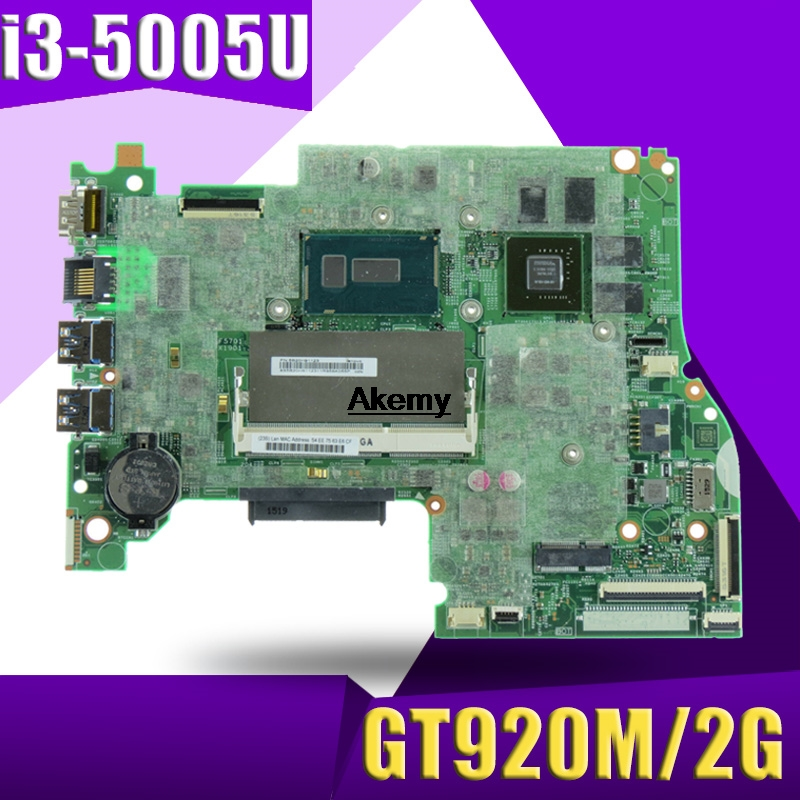 448.03N03.001M For Lenovo FLEX3-1470 YOGA 500-14IBD YOGA500-14IBD Laptop Motherboard 100% Test Work CPU I3-5005U GT920M 2G