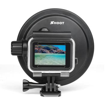 2020 Newest Underwater Waterproof Dome Port Diving Lens Cover Case For GoPro Hero 5 6 7 Black Go Pro Hero7 Camera Accessory upgrade version 6 dome port underwater photography shell for gopro hd hero 4 3 for taking half in half out cool photos