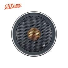 Ghxamp 3 cal głośnik wysokotonowy głośnik Hifi złota kopuła tonów wysokich głośnik 82mm jednostki dla Monitor BX2 TBX025 dobrej jakości z pokrywa 1PC