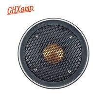 Ghxamp 3 polegada tweeter alto-falante de alta fidelidade ouro cúpula agudos unidade 82mm para monitor bx2 tbx025 boa qualidade com capa 1pc