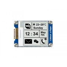 Модуль электронной бумаги 1,54 дюйма, 200x200, дисплей e Ink, 2 цвета, черный и белый, широкий угол обзора SPI, поддерживает частичное обновление