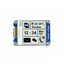 200x200, 1.54inch E-Ink display module Without PCB Communicate via SPI interface Supports various controller boards 2 13 inch e paper module 212 104 e ink display screen spi wide viewing angle supports partial refresh