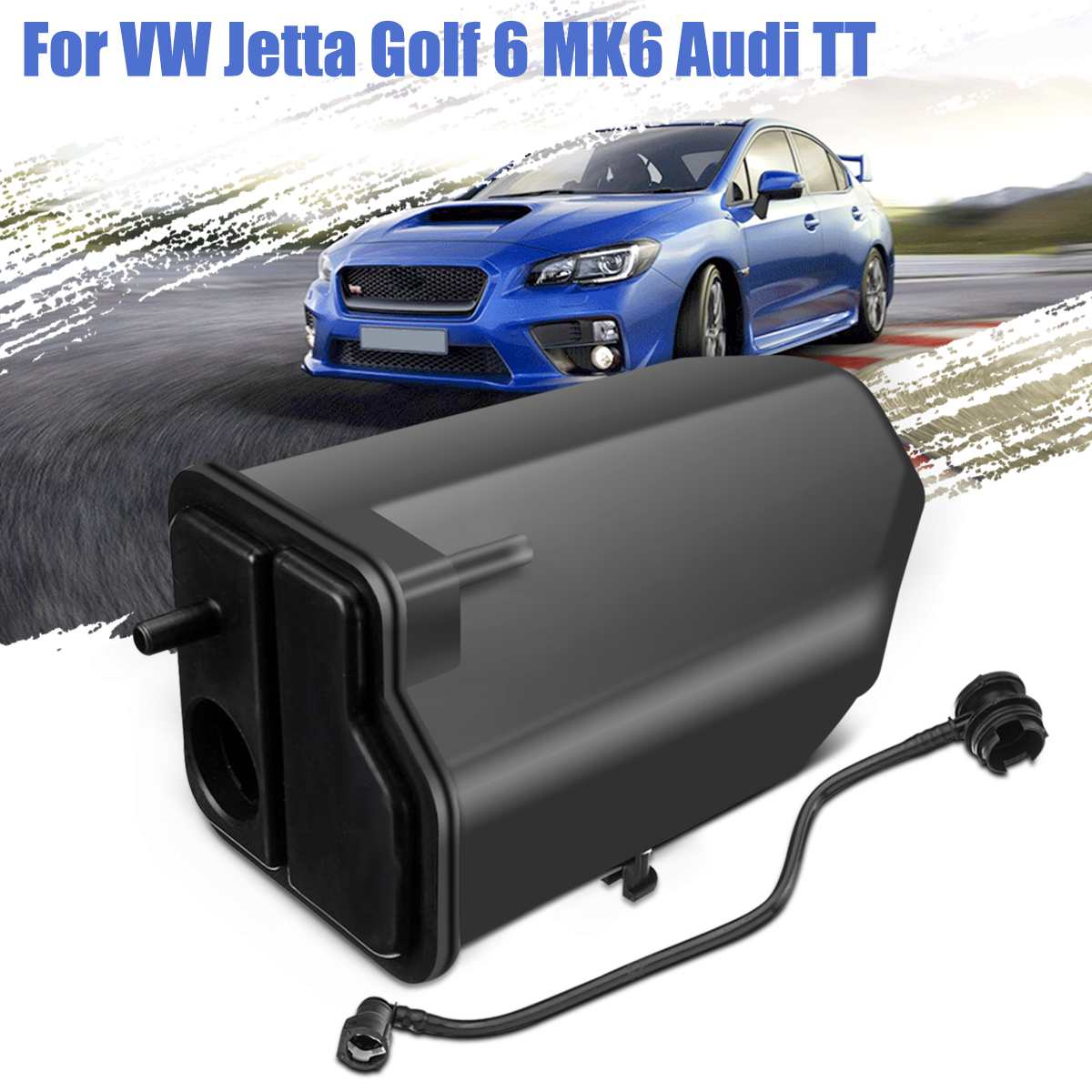 1K0201897AE 1K0201801E 車活性炭チャコールキャニスター缶 Vw/ジェッタゴルフ EOS アウディ A3 TT