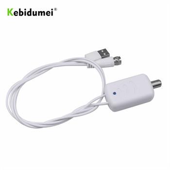 Kebidumei niski poziom hałasu łatwa instalacja wzmacniacz antenowy TV HDTV antena wzmacniająca sygnał Adapter cyfrowy wzmacniacz sygnału HDTV tanie i dobre opinie Indoor 45-862 MHz HDTV TV Antenna Amplifier Signal Booster about 80cm 31 50in