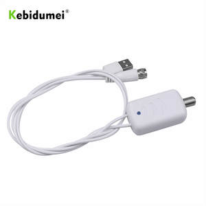 kebidumei Low Noise Easy Installation HDTV TV Antenna Amplifier Signal Booster Antenna Adapter Digital HDTV Signal Amplifier