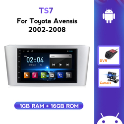 Android 8.1 Car Radio Multimedia Player For Toyota Avensis 2002 2003 2004 2005 2006-2008 Navigation Radio Car Gps 1080P Video