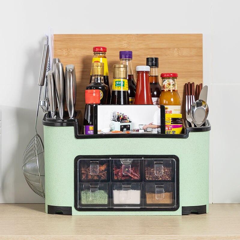 636.78руб. 26% СКИДКА|Многофункциональный кухонный стеллаж для хранения приправ, кухонные полки для хранения кухонных инструментов C1290 f|Подставки для хранения и стеллажи| |  - AliExpress