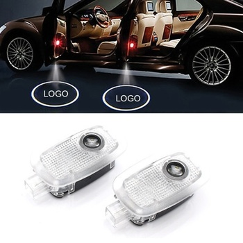 2pcs LED Car Door Light For Maybach Mercedes Benz W220 W211 W222 S320 S500 S560 S600 Car Styling Maybach Logo Projector Light image