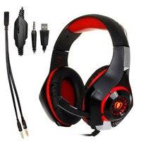 3.5 milímetros fone de Ouvido De Jogos Gaming Headset PS4 Xbox Um Fone de Ouvido com Microfone para PC Laptop Telefone|Fones de ouvido| |  -
