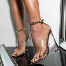 SARAIRIS High Heels 2020 Brand Sexy Transparent