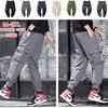 Cargo Pants Men Many Pockets Cotton Camo Camouflage Pantalones Tactical Militar Jogger Sweatpants Teenager 7XL 8XL Male Trousers
