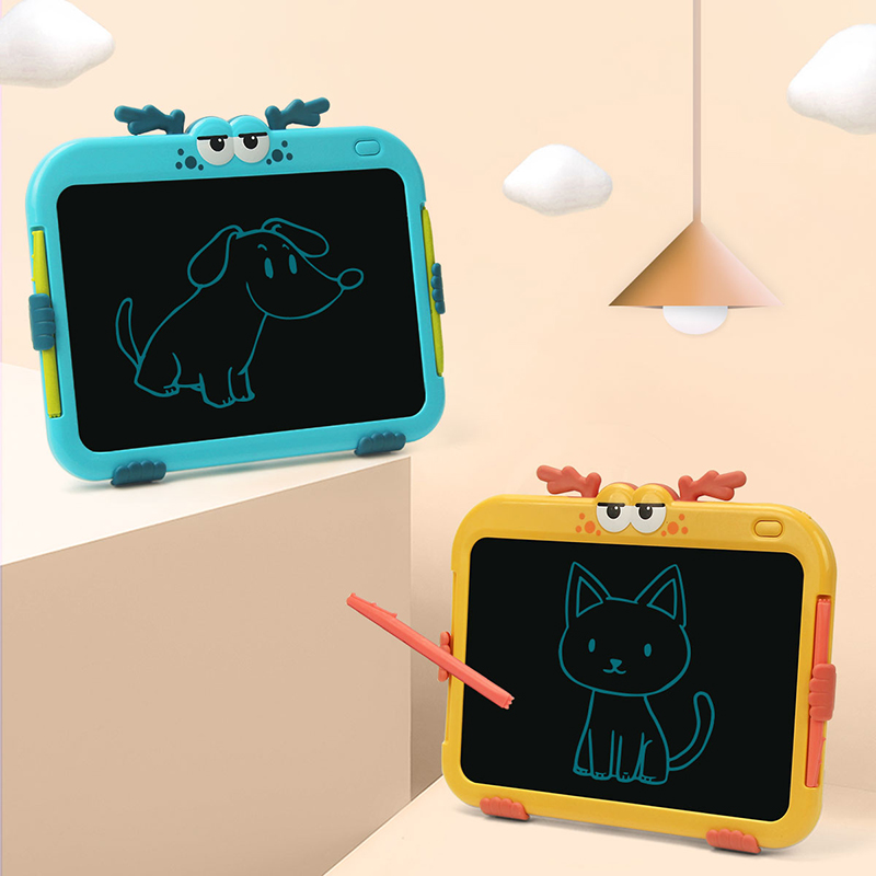 Drawing Toys For Kids LCD Drawing Board Children Drawing Tablet Scratch Painting Toy With Anti-erase Lock Birthday Gifts