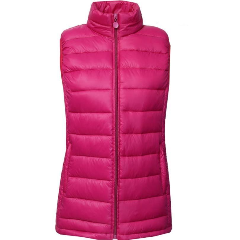 Winter New 5xl Women Down Vest Sleeveless Vest Jacket Warm Down Jacket Plus Size