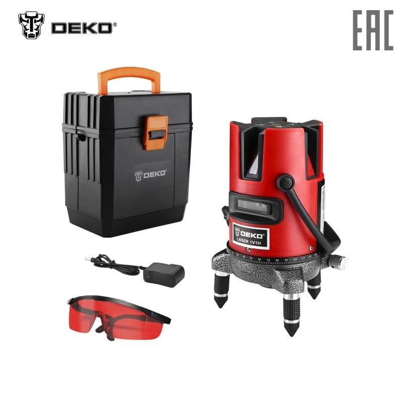 Уровень лазерный в пластиковом кейсе DEKO DKLL02RB + case 065 0276|Лазерные уровни|   | АлиЭкспресс