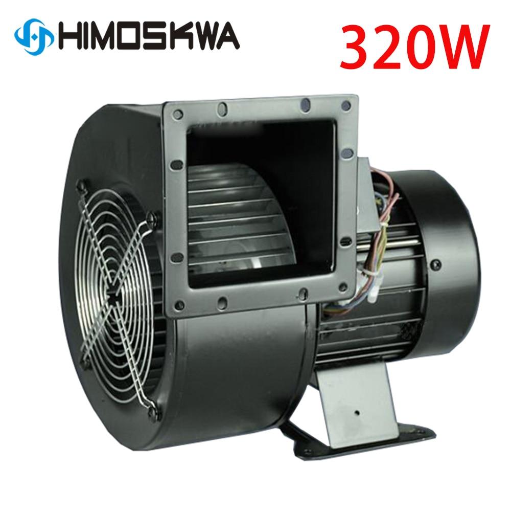 Small Power Frequency Centrifugal Fan 150FLJ7 / 5 220V 380V 320W 330W Industrial Cooling Blower EU UK AU Plug Adapter