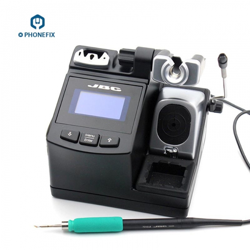 T210 Precision With CD Soldering PHONEFIX Motherboard Mobile A Soldering Handle JBC 2SHE Repair Station Tool For Original
