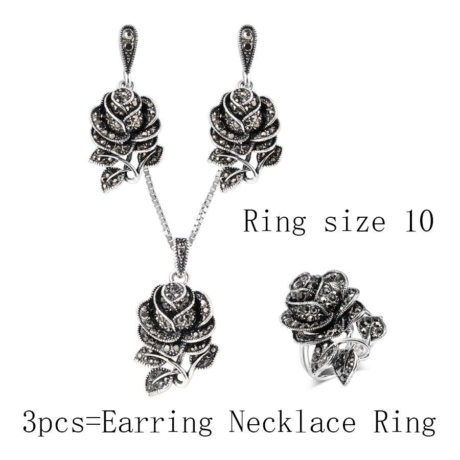 3PCS Ring Size 10