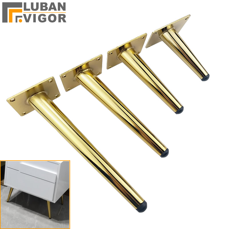Bright Gold Luxurious Atmosphere, TV Cabinet Feet Sofa Table And Chair Legs Support Foot Coffee Table Legs,furniture Hardware