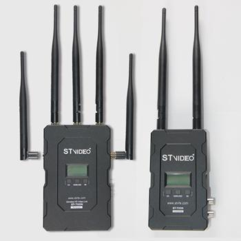Długi zasięg bez opóźnień 5GHz 1080P 2300ft (700m) transmisja bezprzewodowa HD STW700 tanie i dobre opinie CN (pochodzenie) stop aluminium 4 15KGS