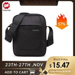Tigernu Brand crossbody men bag Men shoulder bag splashproof Nylon Mini Ipad messenger shoulder strap bag For Men