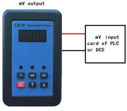 2019 LB78 4-20mA/0-10 V/mV calibrateur de source de générateur de Signal avec PLC, DCS, ESD - 5