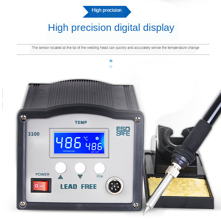 soldering iron soldering station 600 degrees adjustable height lead-free Yaogong 3100 Extreme temperature recovery