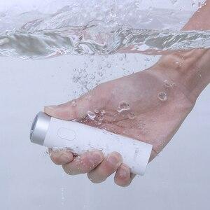 Image 2 - Xiaomi Smate חשמלי לגברים USB נטענת יבש רטוב גילוח מכונת בירד שיער גוזם IPX7 רחיץ אחד להב