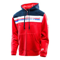 2018 New arrival Red Motocross Sweatshirts Outdoor Sports Hoodies Motorcycle Racing Jackets With Zipper For Honda HRC MOTO GP