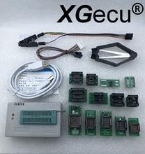 V 10,33 XGecu TL866II Plus USB Programmierer support15000 IC + 13PCS Adapter + SOP8 Testclip SPI NAND EPROM MCU PIC AVR ersetzen TL866A