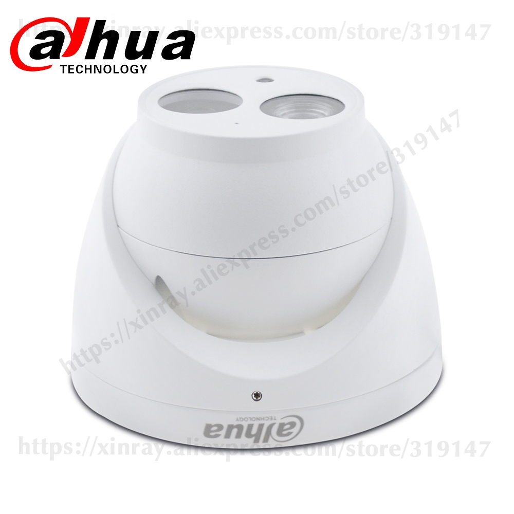 H3ce1c763a628407c86bd2ce054f9fd31h Dahua IPC-HDW4631C-A 6MP HD POE Network Mini Dome IP Camera Metal Case Built-in MIC CCTV Camera 30M IR Night Vision Dahua IK10