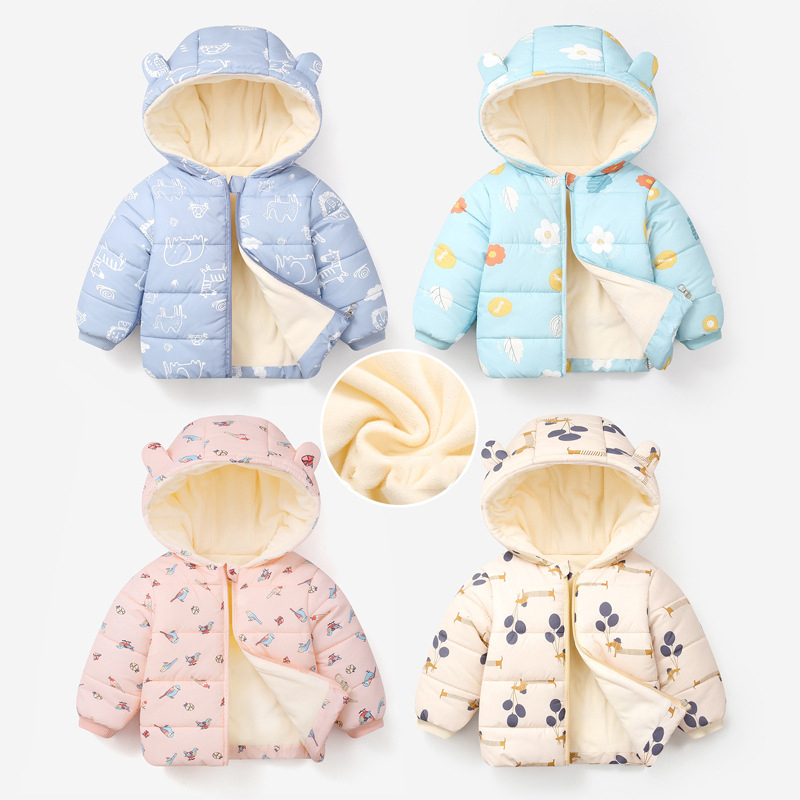 New children's padded jacket for boys and girls padded jackets winter clothes warm jackets