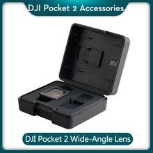 DJI Pocket 2 lente gran angular, accesorios que aumentan el FOV de DJI Osmo Pocket 2 a 110 ° para DJI Osmo Pocket 2