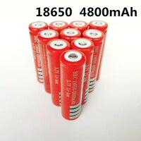 18650 batteria batteria al litio ricaricabile 4800mAh 3.7V batteria agli ioni di litio per torcia torcia 18650 batterie GTL EvreFire CN