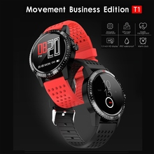 цены T1 Bluetooth Smart Watch IP67 Heart Rate Blood Pressure Reminder Sports Pedometer Information Reminder Waterproof Smart Bracelet