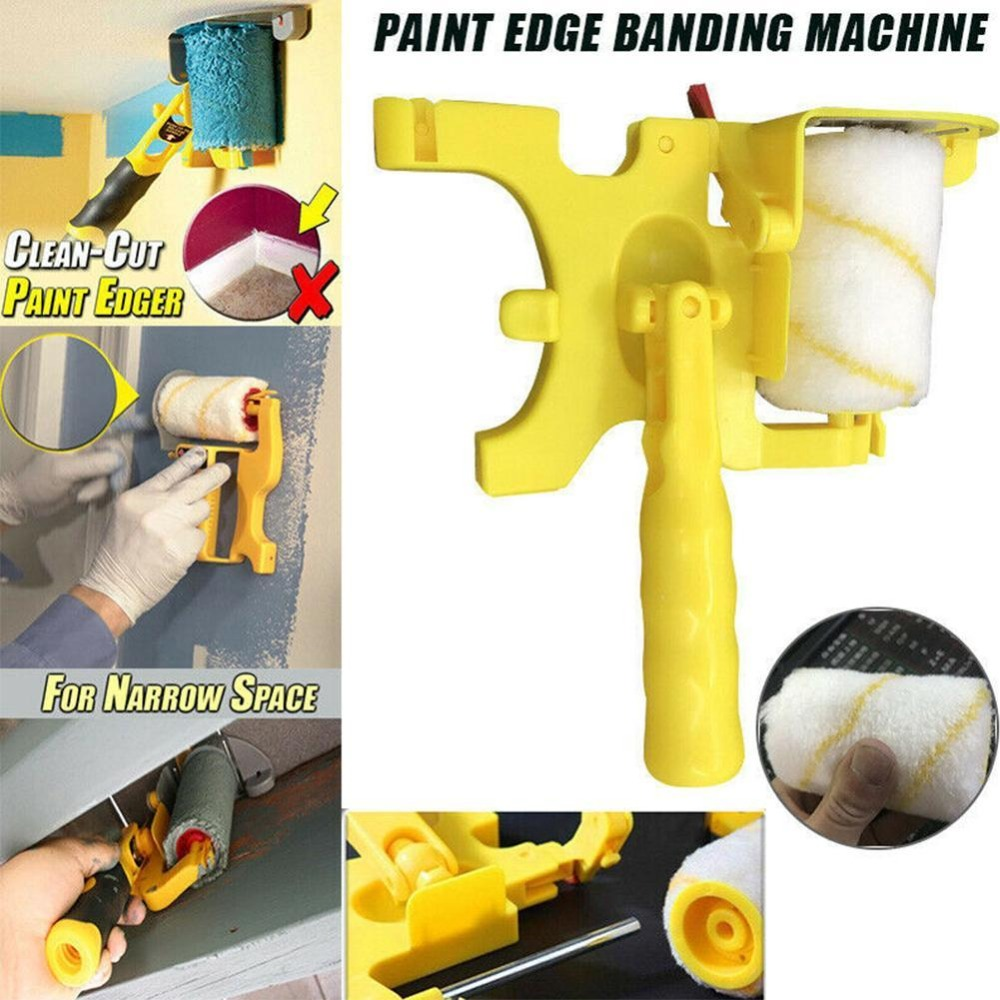 Clean Cut Paint Edger Roller Brush Safe