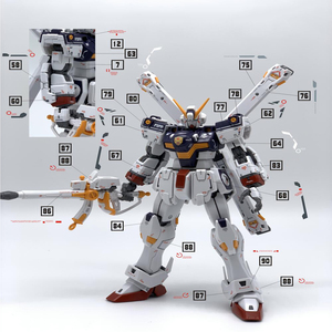 Image 2 - Creative DIY Decals สติกเกอร์สำหรับ RG 1/144 X1 Crossbone Gundam X1 ชุดสติกเกอร์