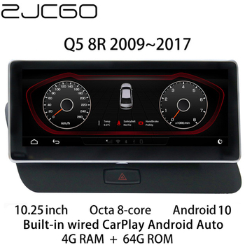Car Multimedia Player Stereo GPS DVD Radio Navigation NAVI Android Screen Monitor MMI 2G 3G MIB System for Audi Q5 8R 2009~2017