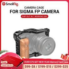 SmallRig jaula de cámara FP para SIGMA fp, con soporte para zapata fría y orificios de localización Fr, luz de Flash, micrófono, opción de bricolaje 2518
