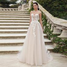Свадебные платья thinyfull в стиле бохо цвета шампанского с