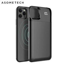 Batterij Case Voor Iphone 11 Pro Max Digitale Display Magnetische Lading Powerbank Battery Case Charger Case Power Bank Voor Iphone xs