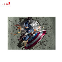 Marvel Posters Anime Movie Captain America Wall Art Poster Print Anime Character Superhero Canvas Painting Modern Wall Pictures