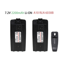2X Substituted Battery for Motorola Two-Way Radio A10 A12 CP110 EP150