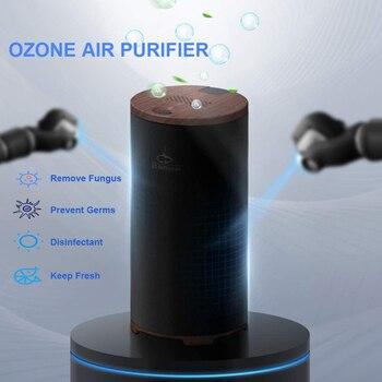 GX·Diffuser Air Ozonizer Deodorizer Mini Ozone Generator 99% Sterilize Disinfect Keep Air Fresh Ozone Air Purifier Remove Fungus ozone therapy medical ozone generator mog003 12v mini ozone generator with ozone destructor concentration 5 99ug ml